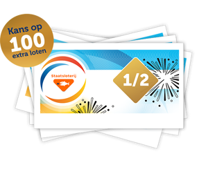 Oudejaarstrekking met kans op 100 Gratis loten