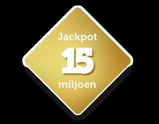 Jackpot 15 miljoen euro