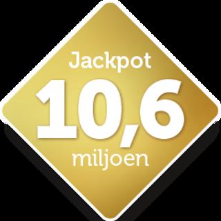 Jackpot €10.600.000,-