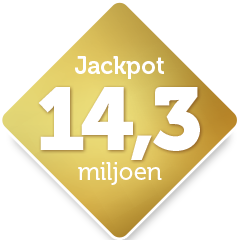 jackpot 14,3 miljoen